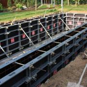 systémové bednění - betonový bazén