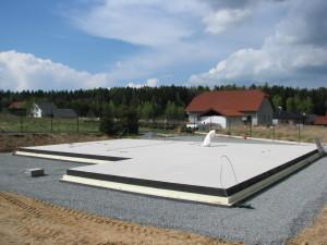 Základová deska pro dřevostavbu firmy ELK