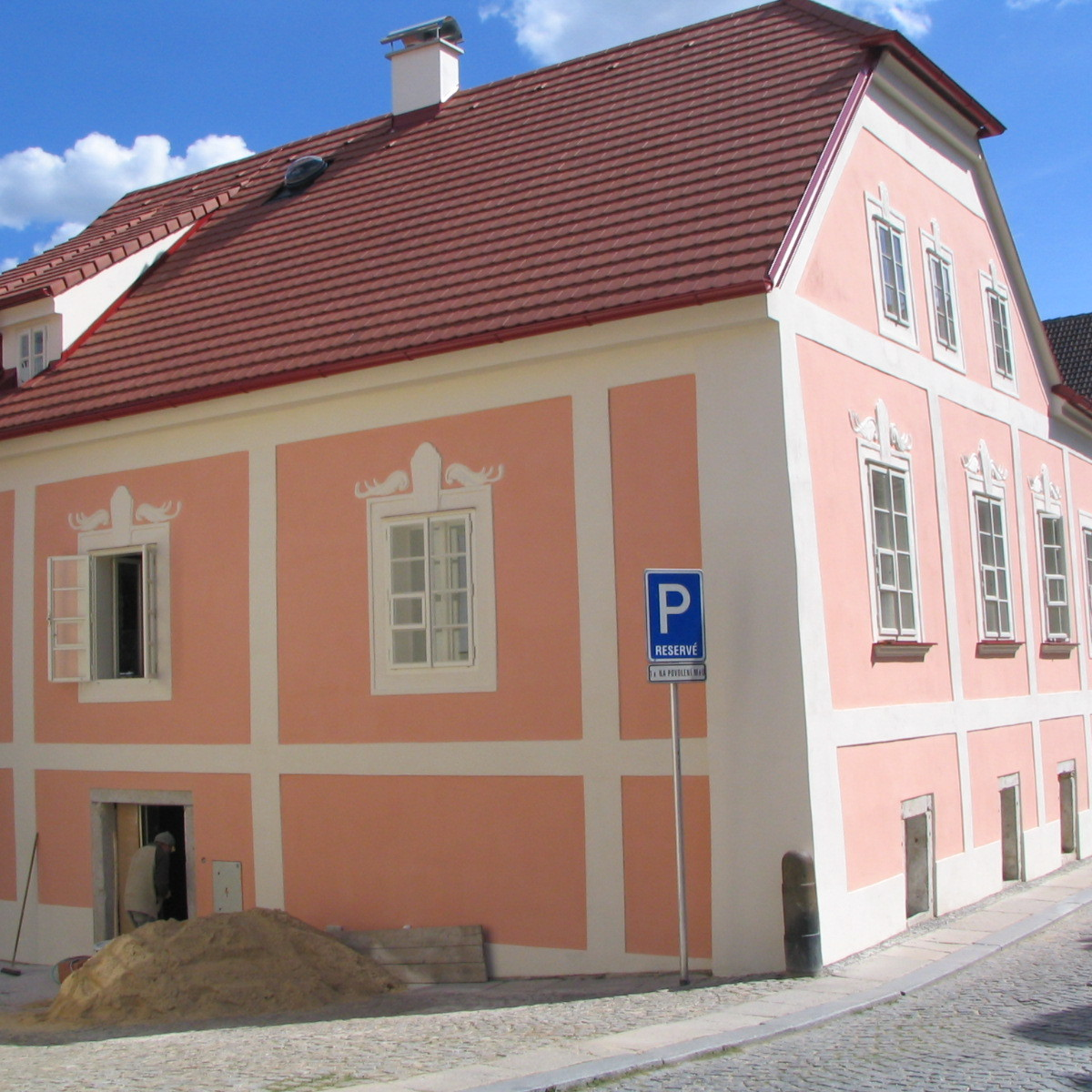 rekonstrukce historických domů